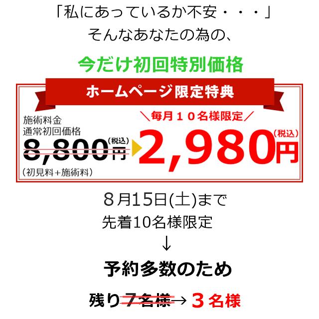 初回特別価格2980円