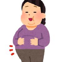 肥満女性のイラスト