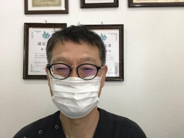 マスク着用の写真